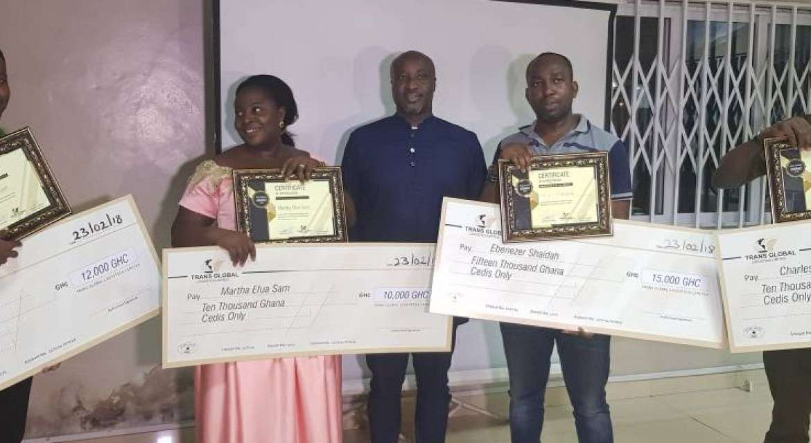 Hurray!! Transglobal Logistics rewards long serving staff